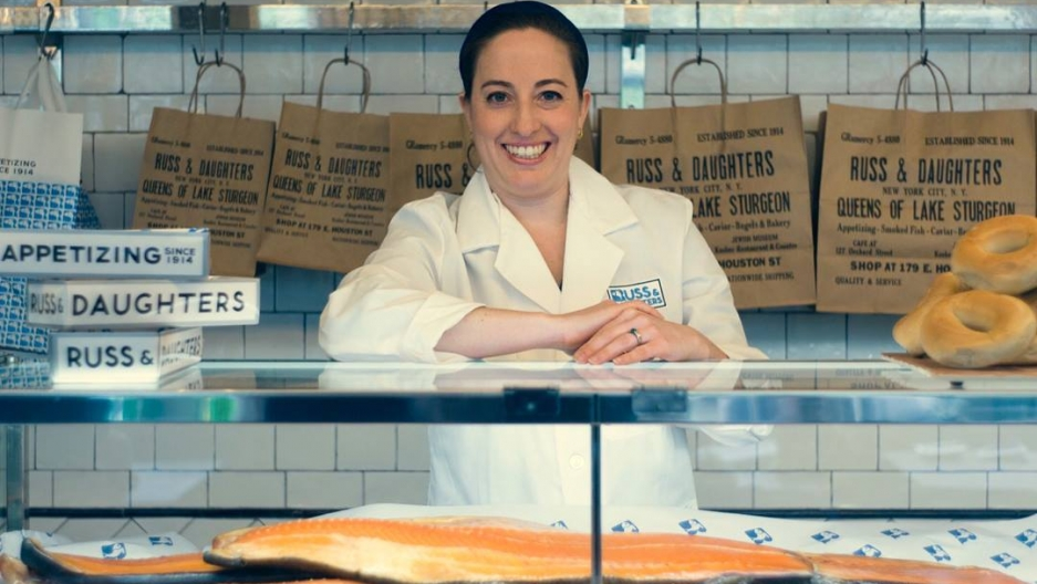 Niki Russ Federman at Russ & Daughters.