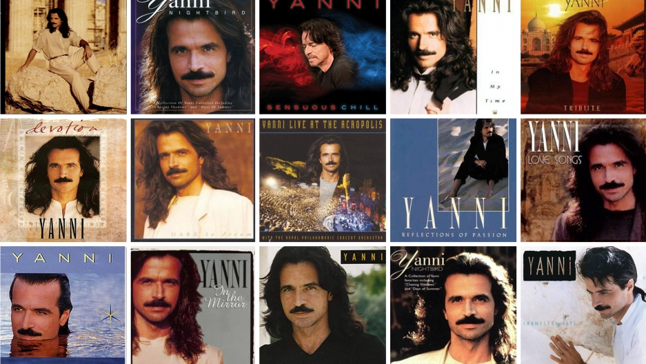 Yanni, the Greek god of sweeping, symphonic '90s music.