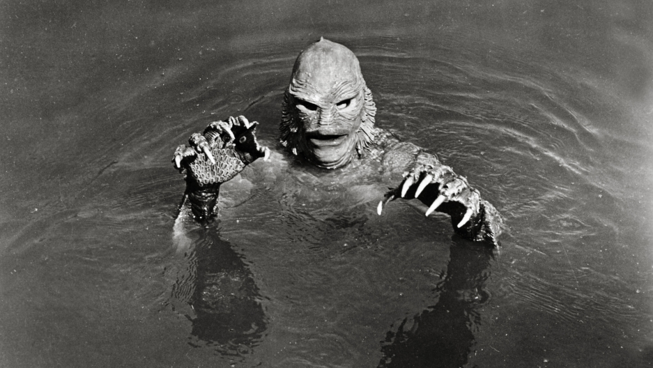 "The creature from the 1954 film ""Creature From the Black Lagoon."""