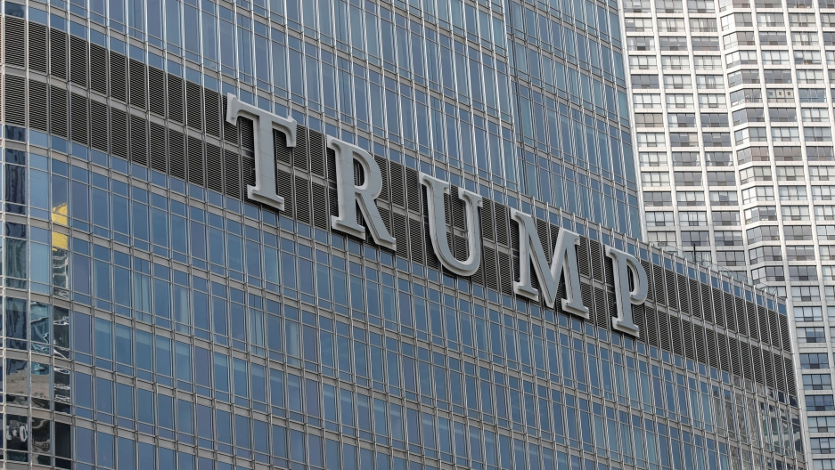 Trump International Hotel & Tower in Chicago