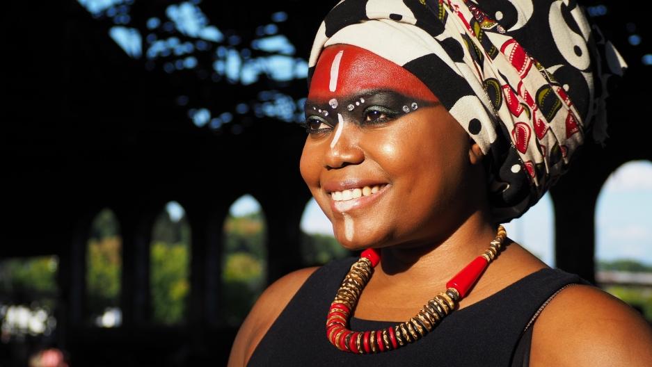 Ugandan rapper Tshila
