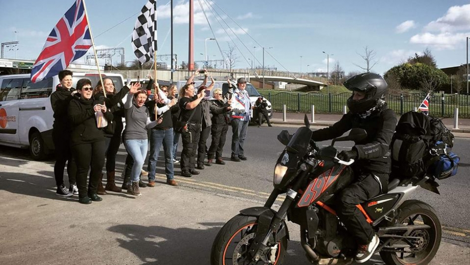 b582cae1b5b Women motorcyclists stage global relay to fight for equality