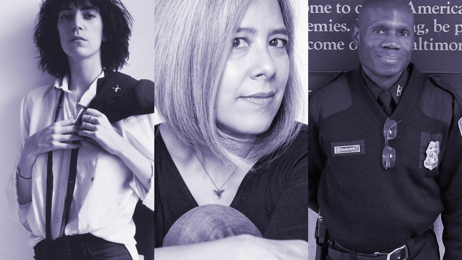 A punk, a writer and a poet: Patti Smith, Susan Choi and Edward Doyle-Gillespie.
