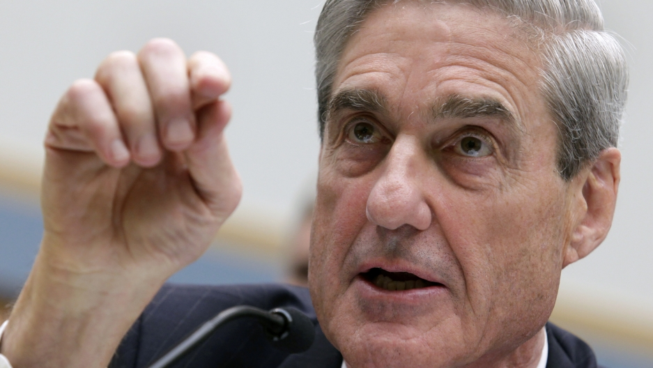 Robert Mueller, as FBI director, testifies before the House Judiciary Committee hearing on Federal Bureau of Investigation oversight on Capitol Hill in Washington June 13, 2018.