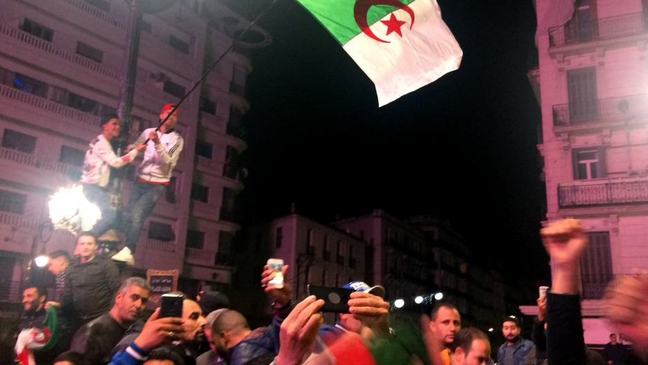 celebration in algeria