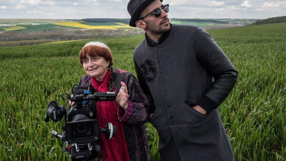 Agnès Varda and JR