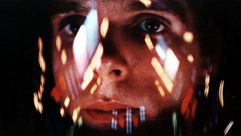 "Commander David Bowman (Keir Dullea) in Stanley Kubrick's ""2001: A Space Odyssey."""