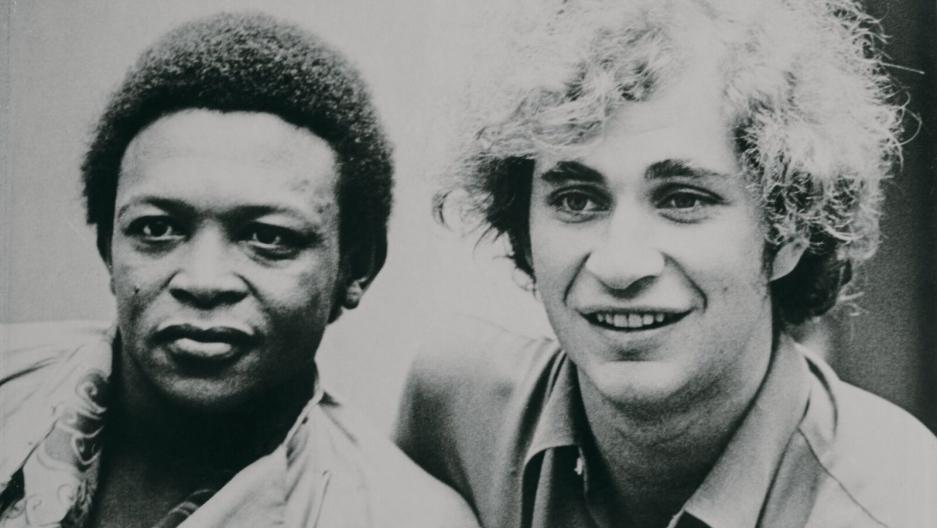 Hugh Masekela and Stewart Levine