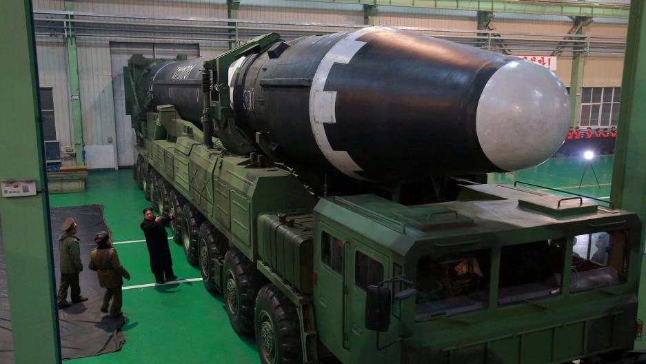 ICBM in North Korea.