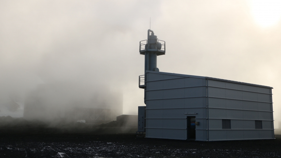 In Iceland, turning CO2 into rock could be a big breakthrough for