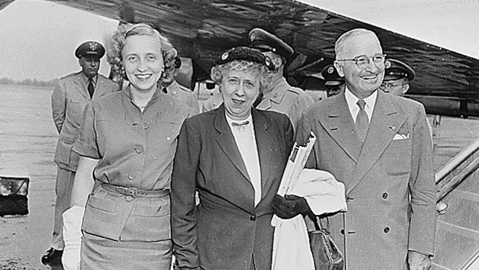 Former US President Harry S. Truman