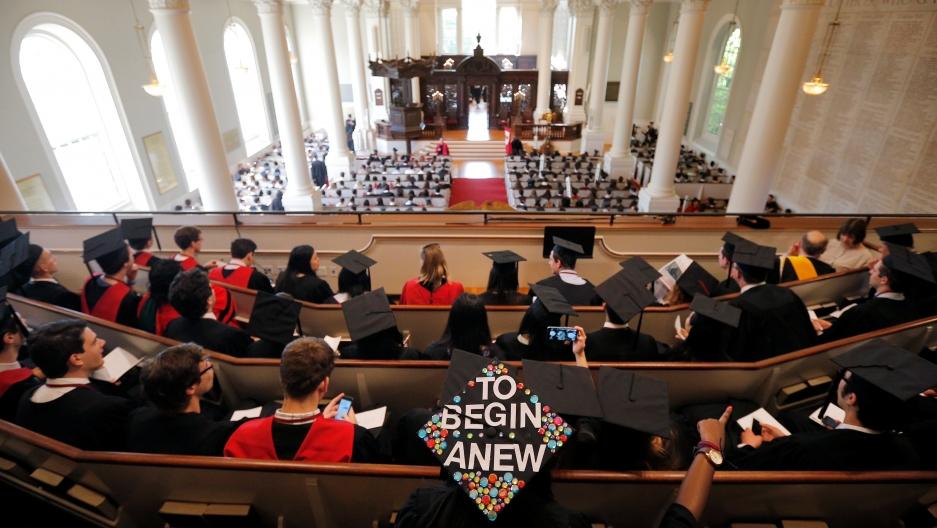 Graduation celebrations at Harvard