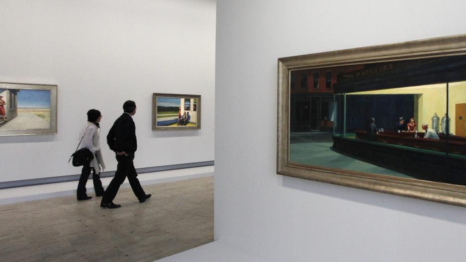 Edward Hopper's Nighthawks Painting