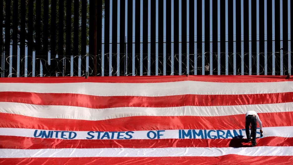 border wall in el paso, texas