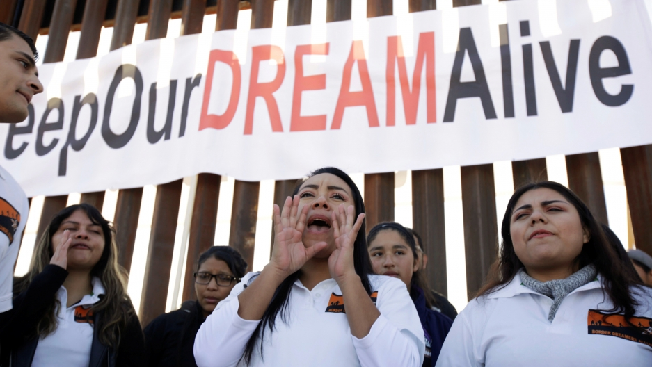 'Dreamers' protest to keep DACA alive