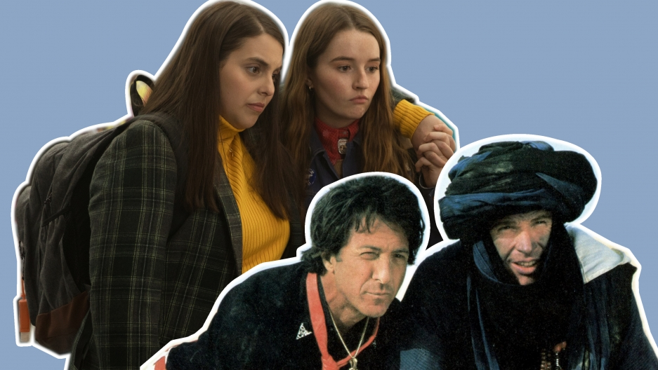 """Booksmart"" with Beanie Feldstein and Kaitlyn Dever, and ""Ishtar"" with Dustin Hoffman and Warren Beatty."