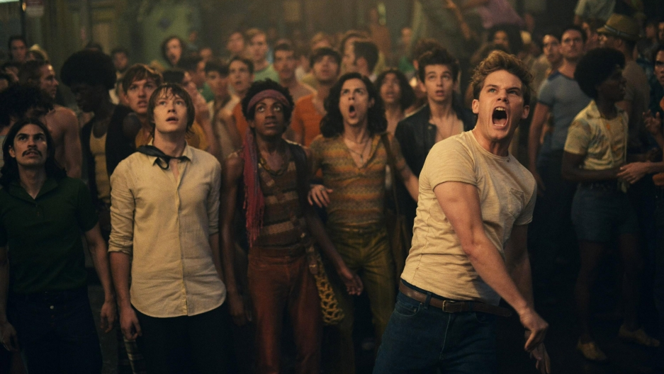 "The 2015 movie ""Stonewall,"" directed by Roland Emmerich."