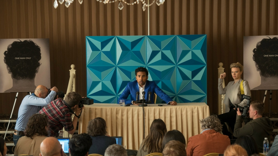 "Himesh Patel in the new movie ""Yesterday"""