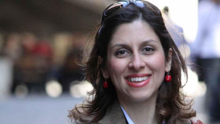 Iranian-British aid worker Nazanin Zaghari-Ratcliffe is seen in an undated photograph.