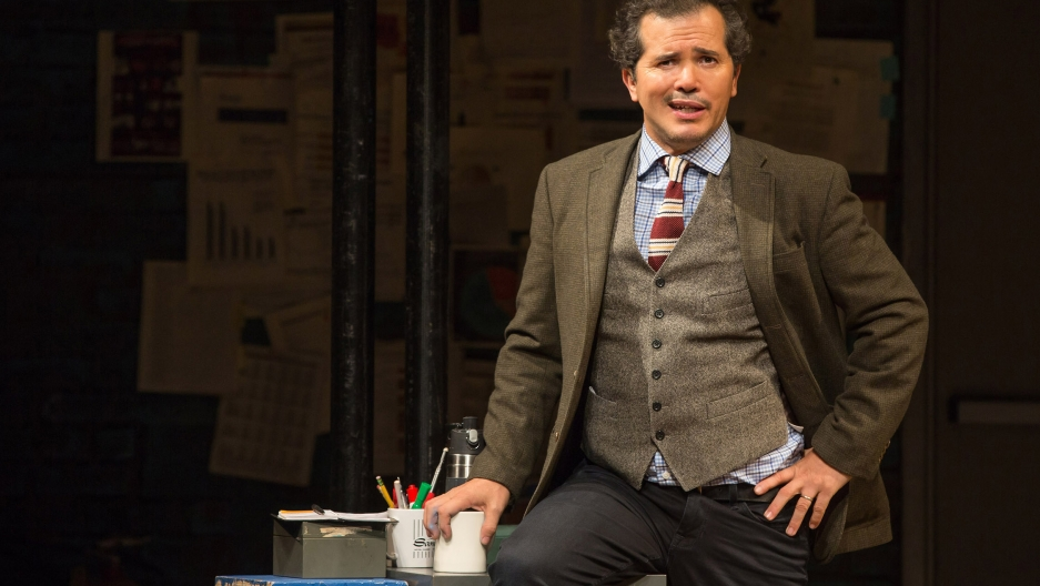 "John Leguizamo performs his one-man play ""Latin History for Morons."""