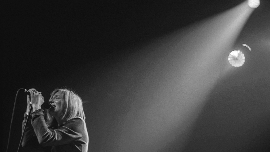 Beth Gibbons of Portishead performs in 1997.