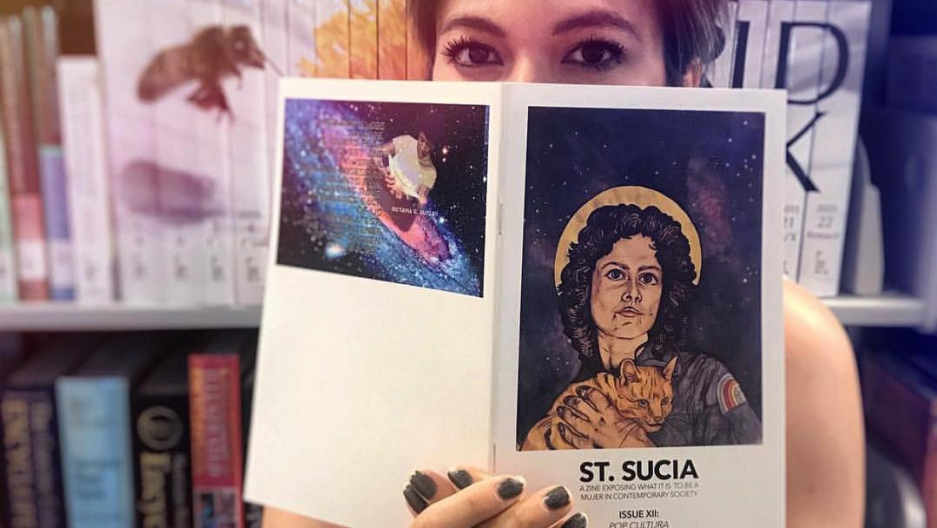 No ordinary saint, St  Sucia is a rebel zine for Latinx feminists