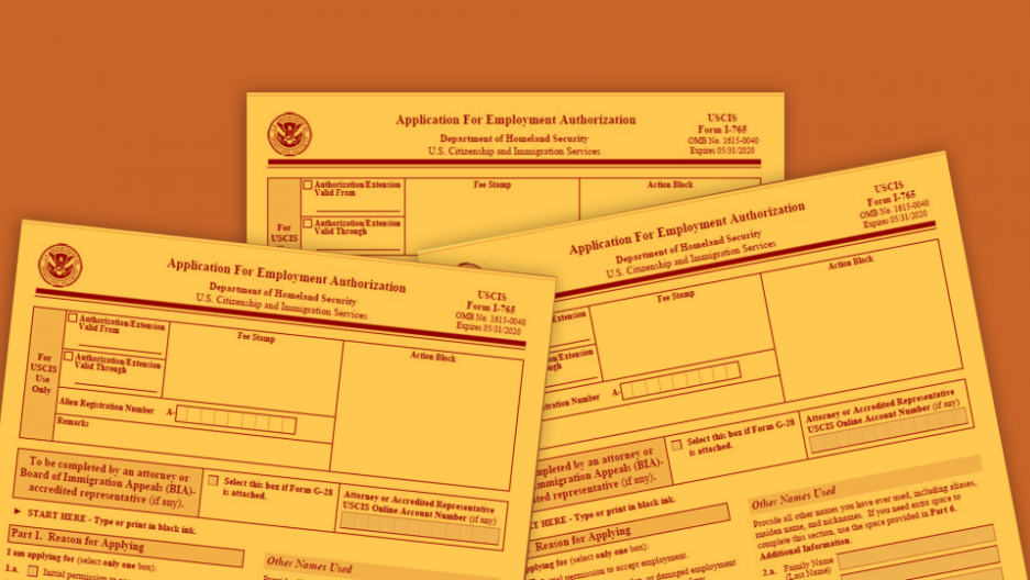 Employment authorization forms