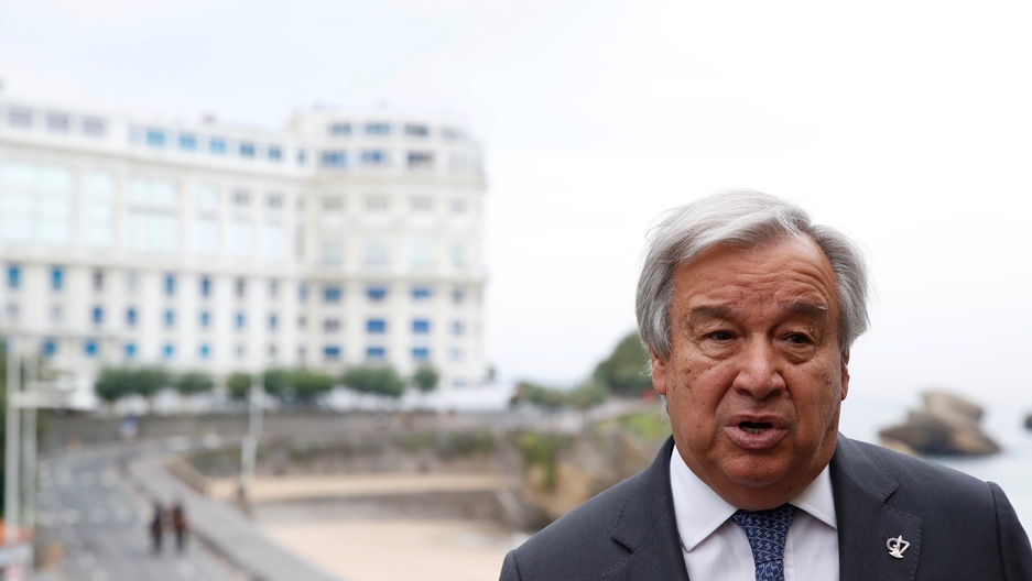 United Nations Secretary-General AntónioGuterres
