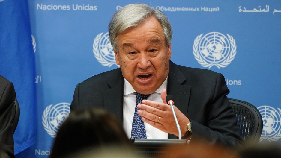 Secretary-General of the United Nations António Guterres