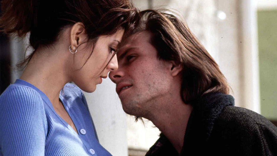"""The 1993 romantic drama """"Untamed Heart,"""" starring Marisa Tomei and Christian Slater."""
