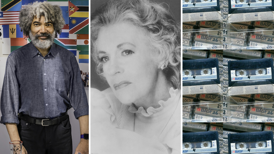 Fred Wilson, Uta Hagen and the cassette tape that started it all.