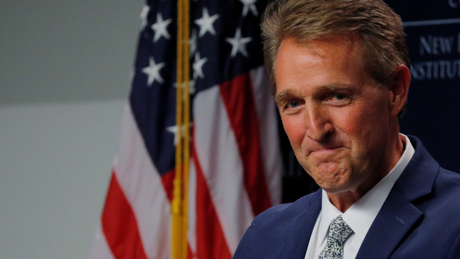 Portrait of former Senator Jeff Flake.