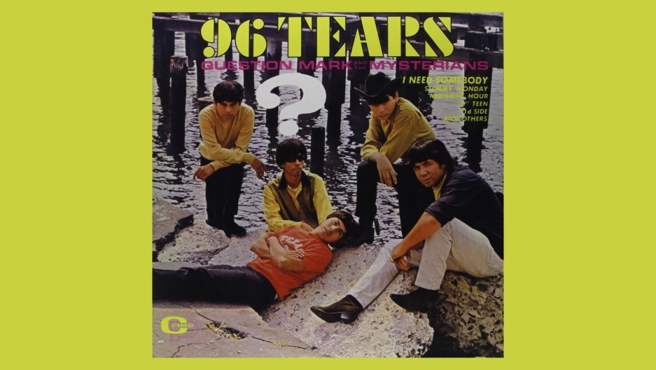 "The 1966 album ""96 Tears"" from ? and the Mysterians."