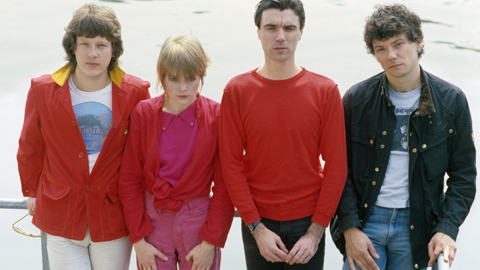 Talking Heads, 1976: Chris Frantz, Tina Weymouth, David Byrne and Jerry Harrison.