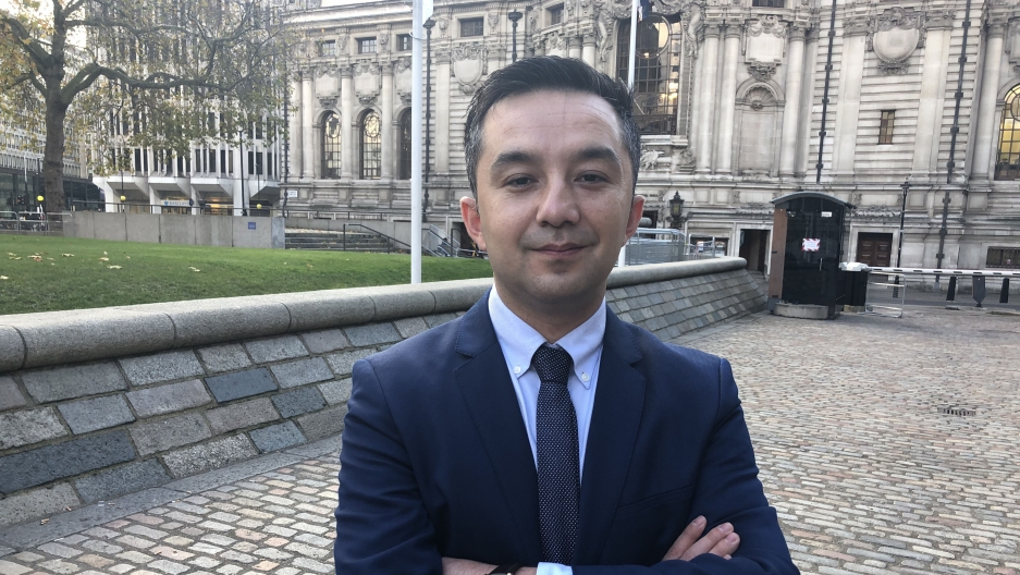 "Ferkat Jawdat, a Uighur living in Virginia, has asked the US government to pressure China to release minorities, including his mother, from ""re-education camps."""