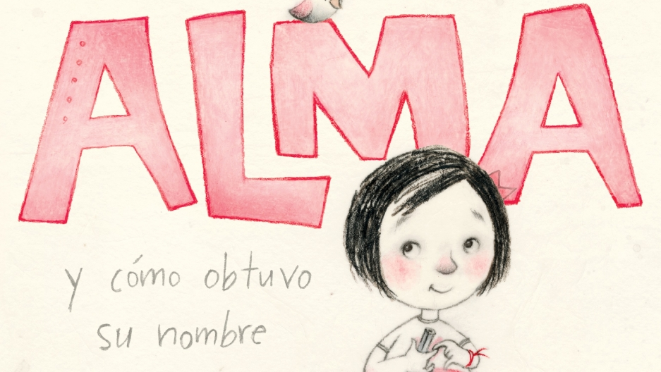 "The cover of ""Alma and How She Got Her Name"""