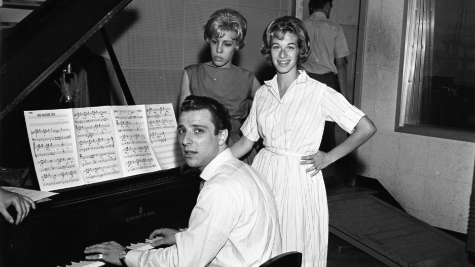 Barry Mann, Cynthia Weil and Carole King in July 1959.