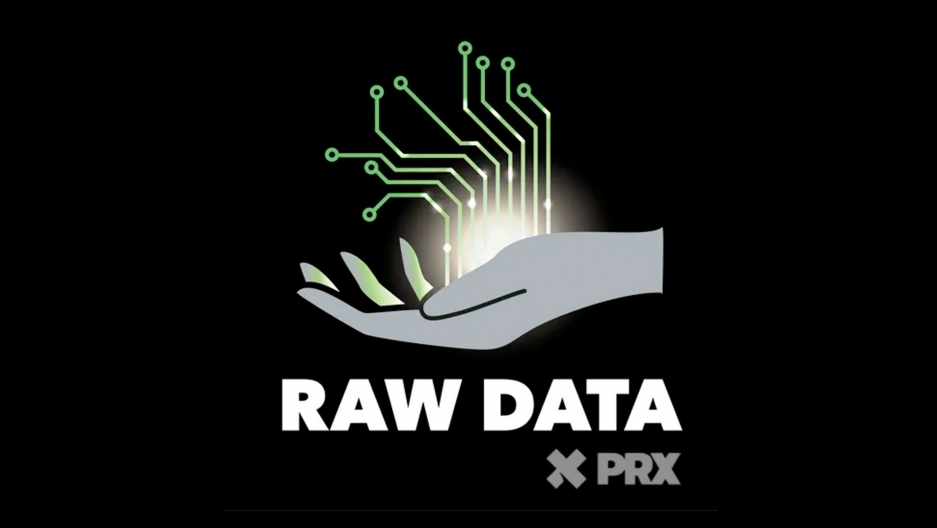 The logo for the Raw Data podcast