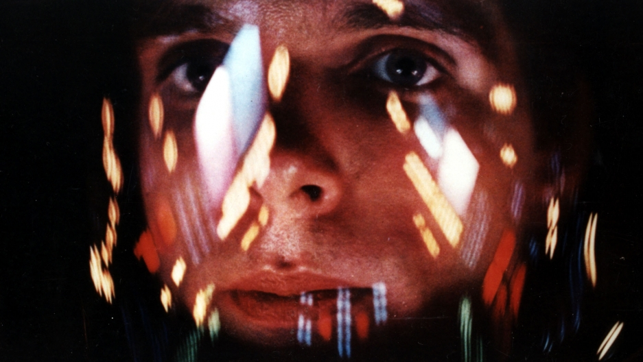 "Commander David Bowman (Keir Dullea) in Stanley Kubrick's ""2001: A Space Odyssey."""