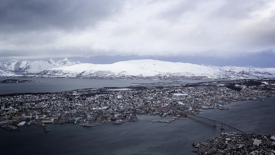 Tromsø Norway aerial