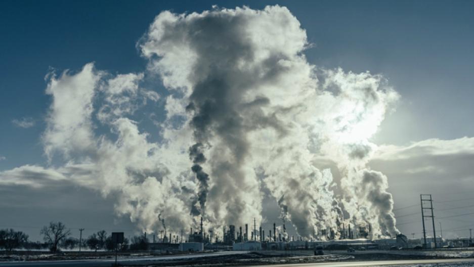 Pine Bend oil refinery in Minnesota
