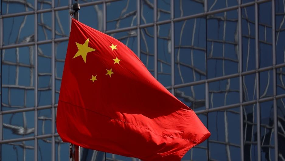 TheChinesenationalflagis seen in Beijing,April 29, 2020.