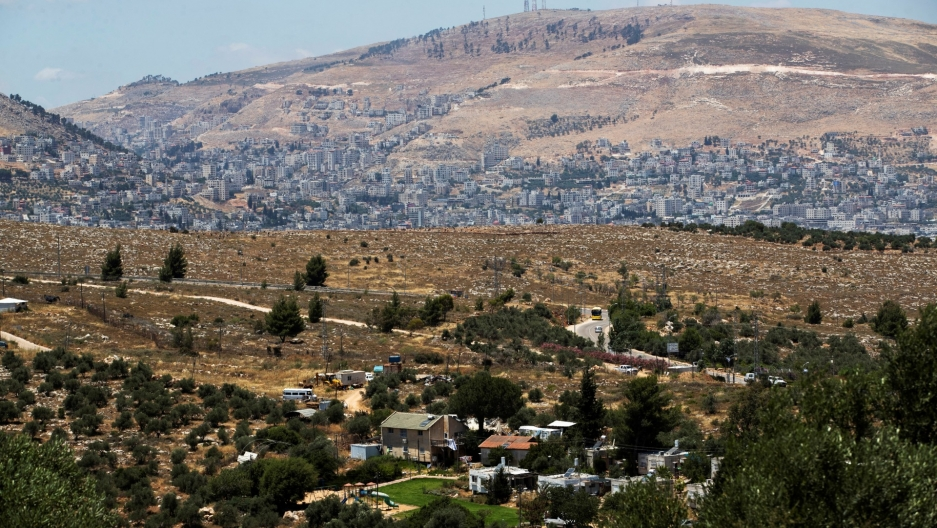 A photo of the West Bank.