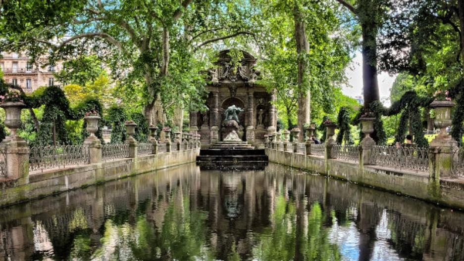 Medici Fountain, Luxembourg Gardens