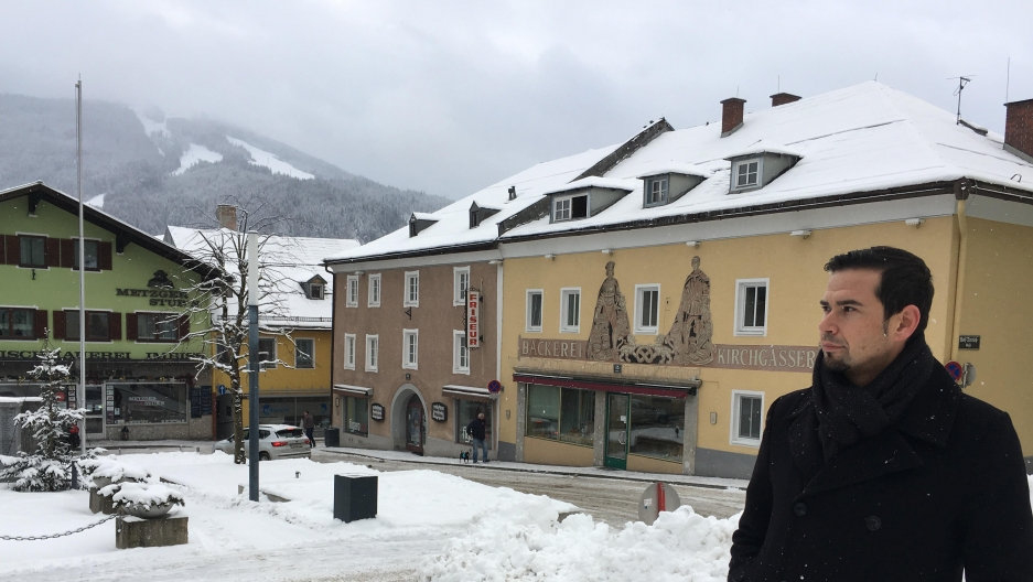Christian Koblinger, head of tourism in Radstadt, Austria, says the winter ski season is a major economic driver in his community.
