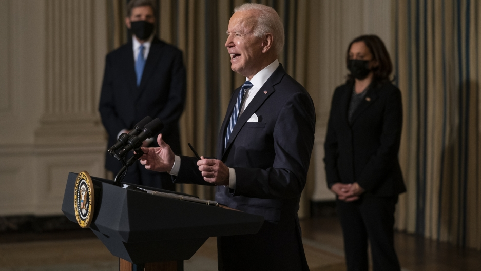 Joe Biden climate executive action