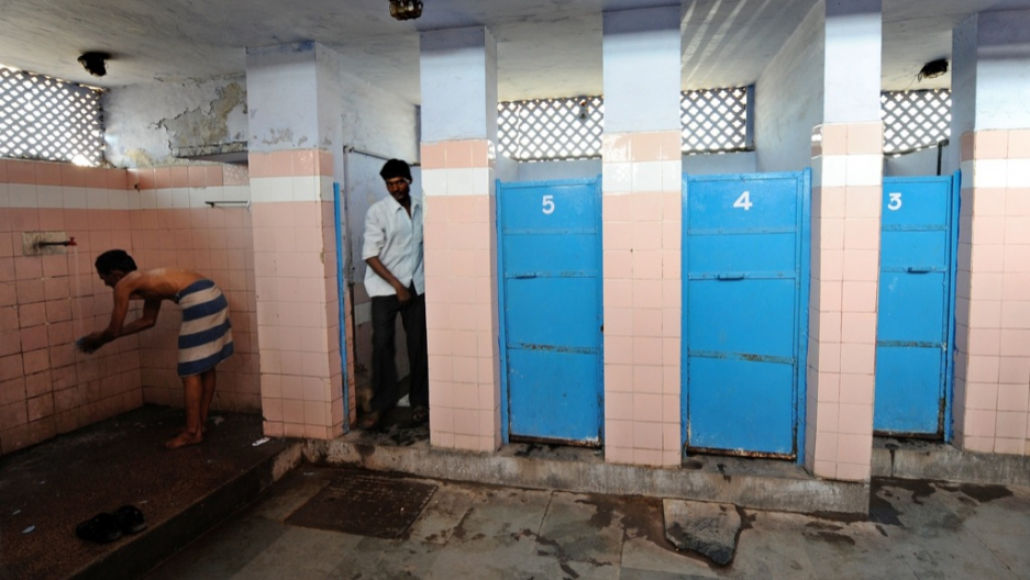 India: Men Pose With Toilets To Woo Brides