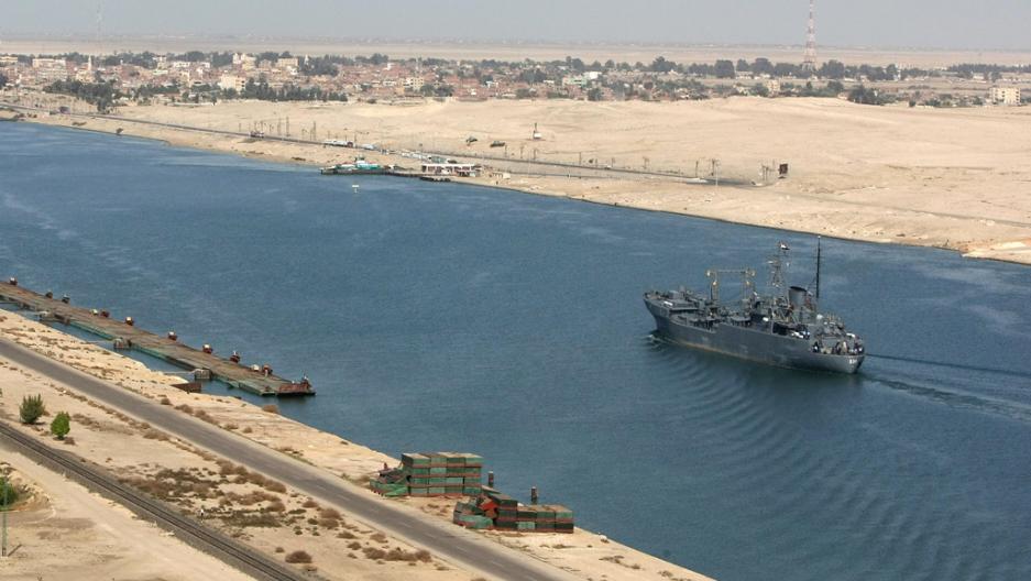 iran requests passage for warships through suez canal public radio