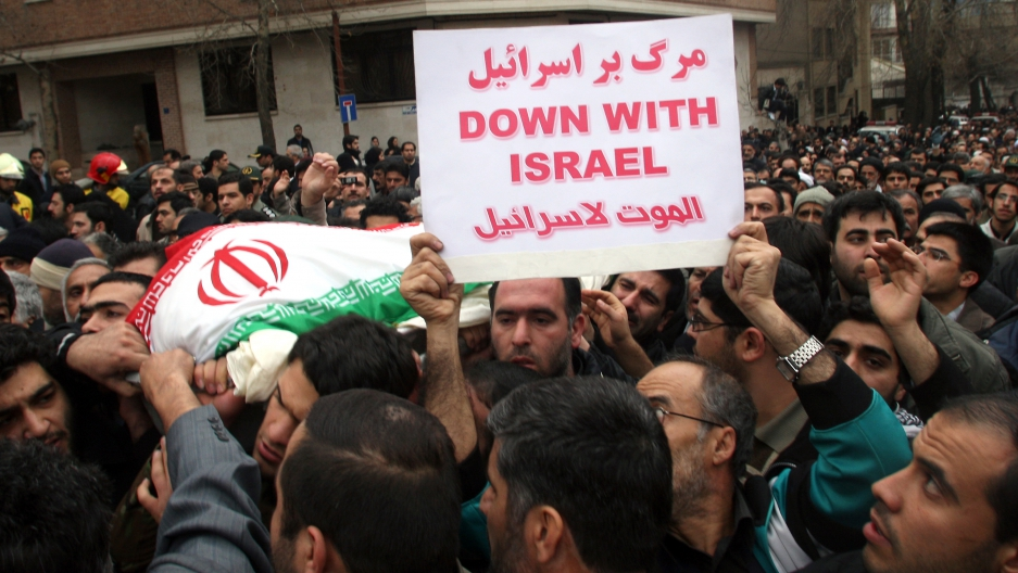 Image result for iran chants death to israel