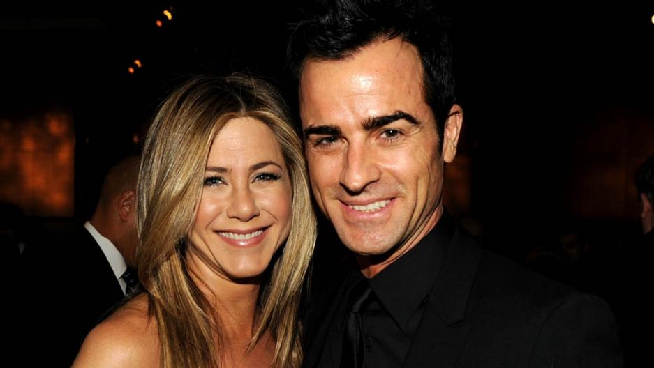 Jennifer Aniston Engaged To Boyfriend Justin Theroux